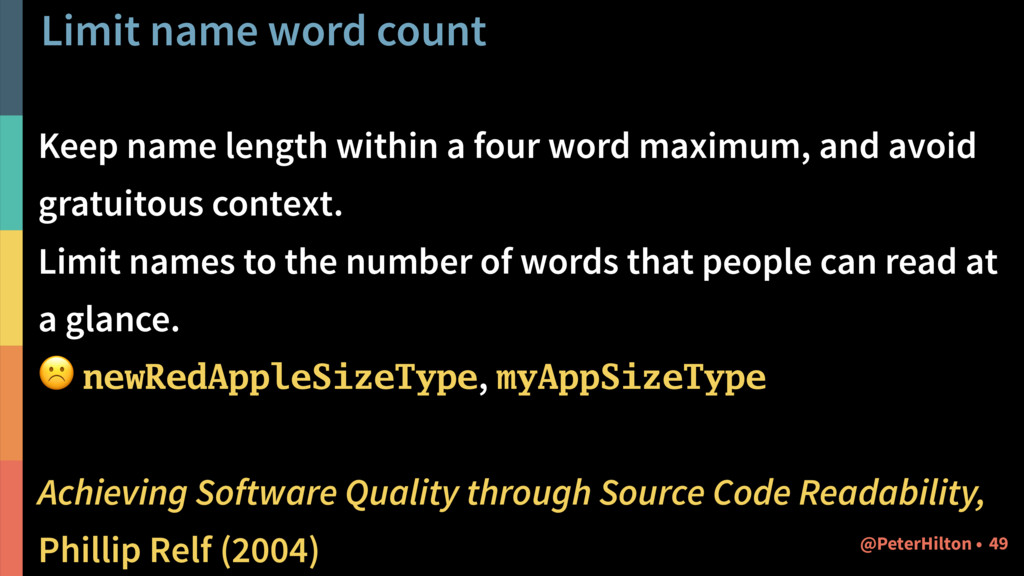 Limit name word count Keep name length within a...