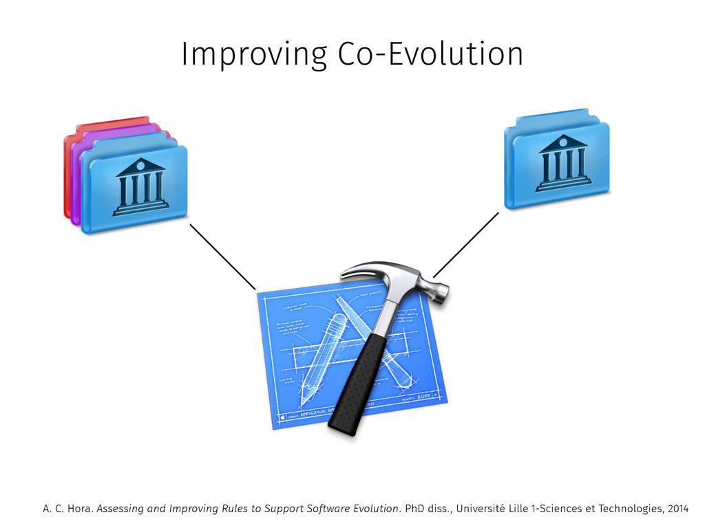 Improving Co-Evolution A. C. Hora. Assessing an...