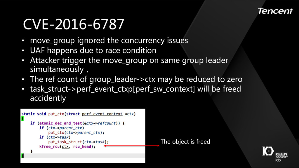 CVE-2016-6787 • move_group ignored the concurre...