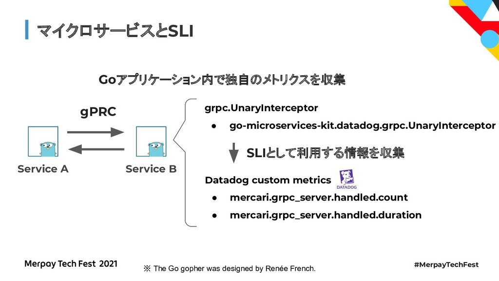 #MerpayTechFest マイクロサービスとSLI Goアプリケーション内で独自のメトリ...