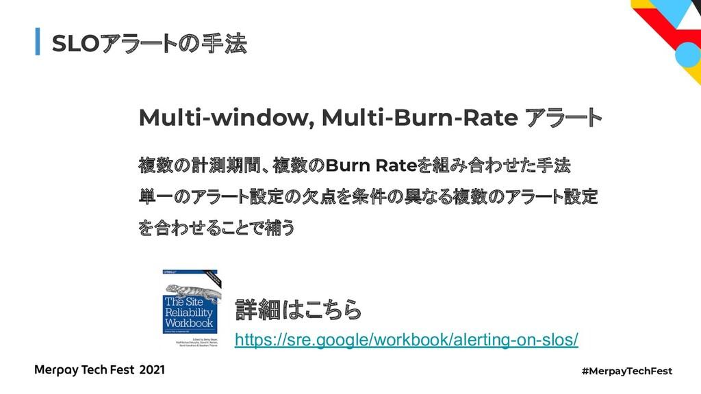 #MerpayTechFest SLOアラートの手法 Multi-window, Multi-...