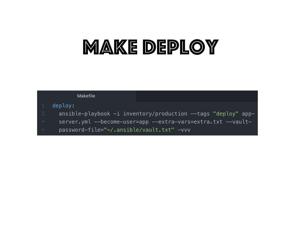 make deploy
