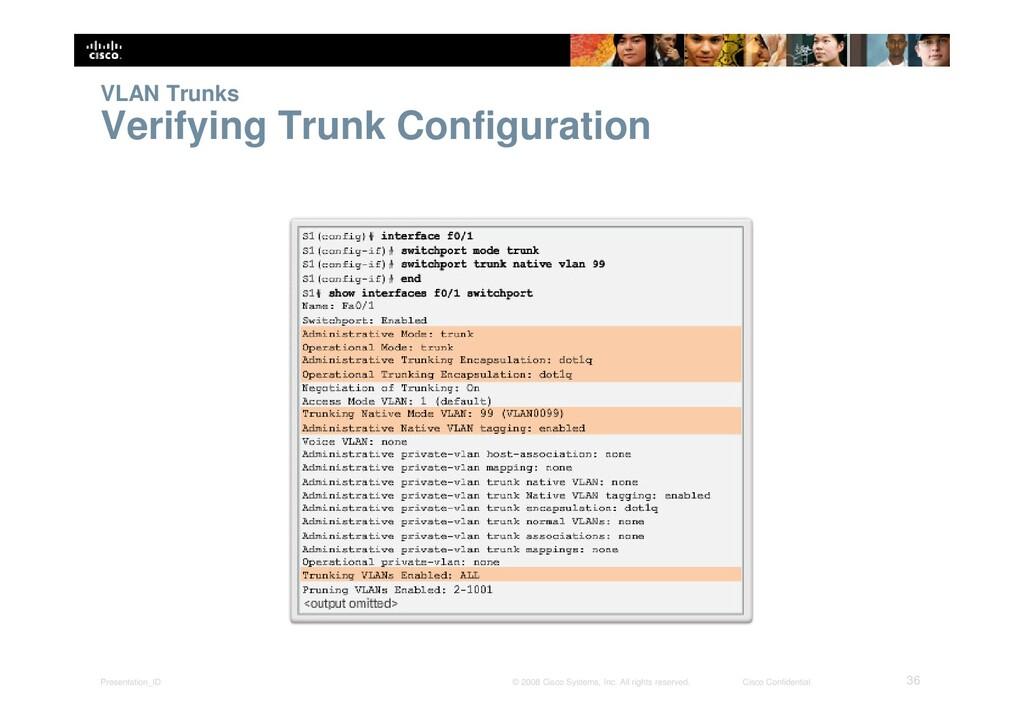 Presentation_ID 36 © 2008 Cisco Systems, Inc. A...