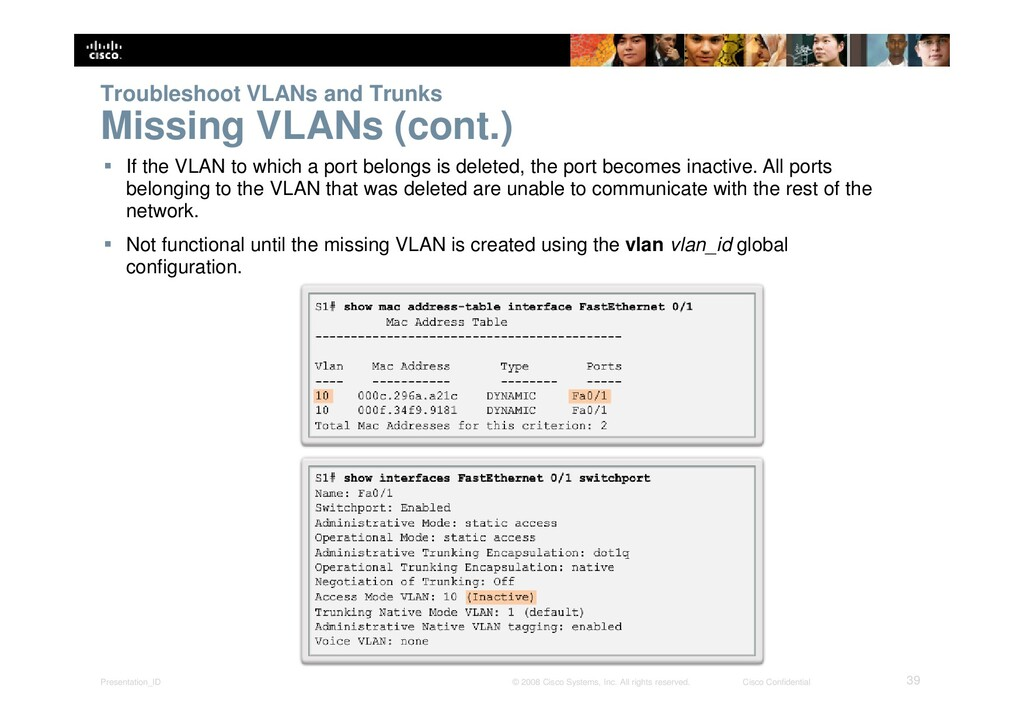 Presentation_ID 39 © 2008 Cisco Systems, Inc. A...
