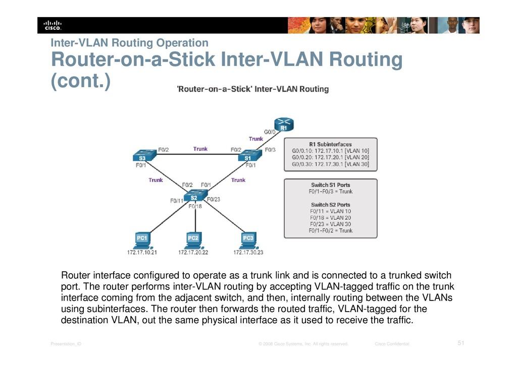 Presentation_ID 51 © 2008 Cisco Systems, Inc. A...