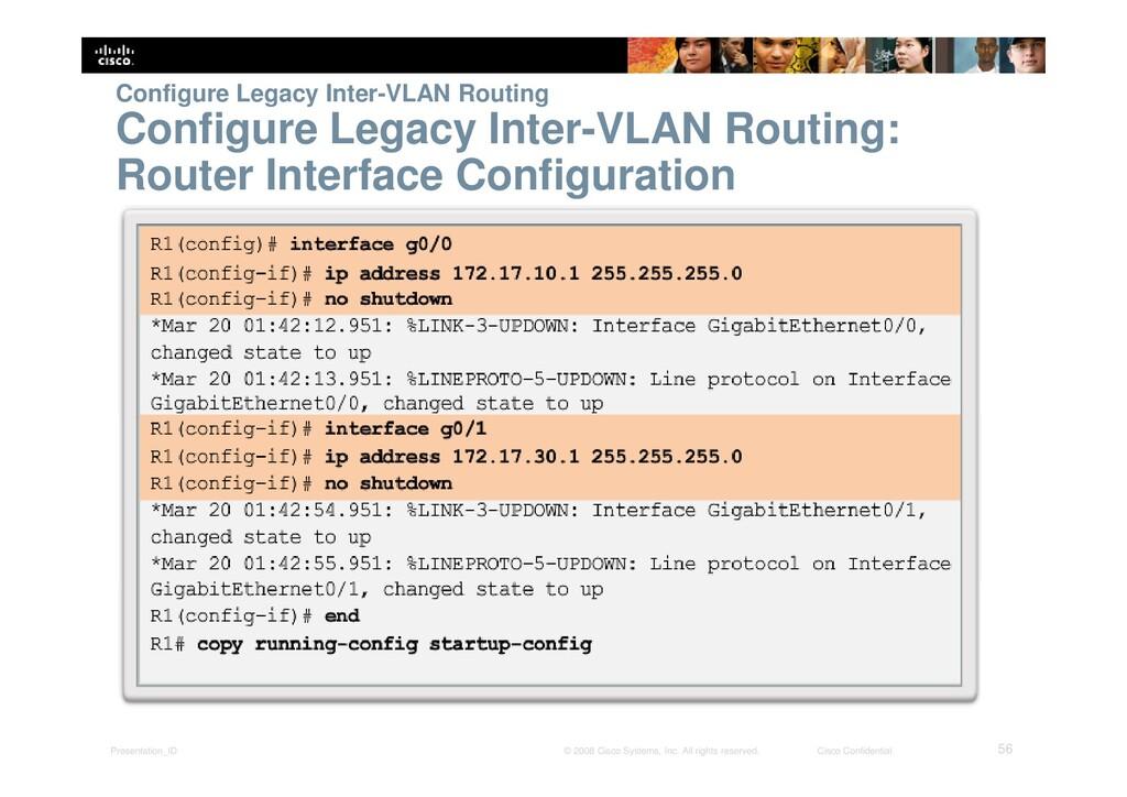 Presentation_ID 56 © 2008 Cisco Systems, Inc. A...