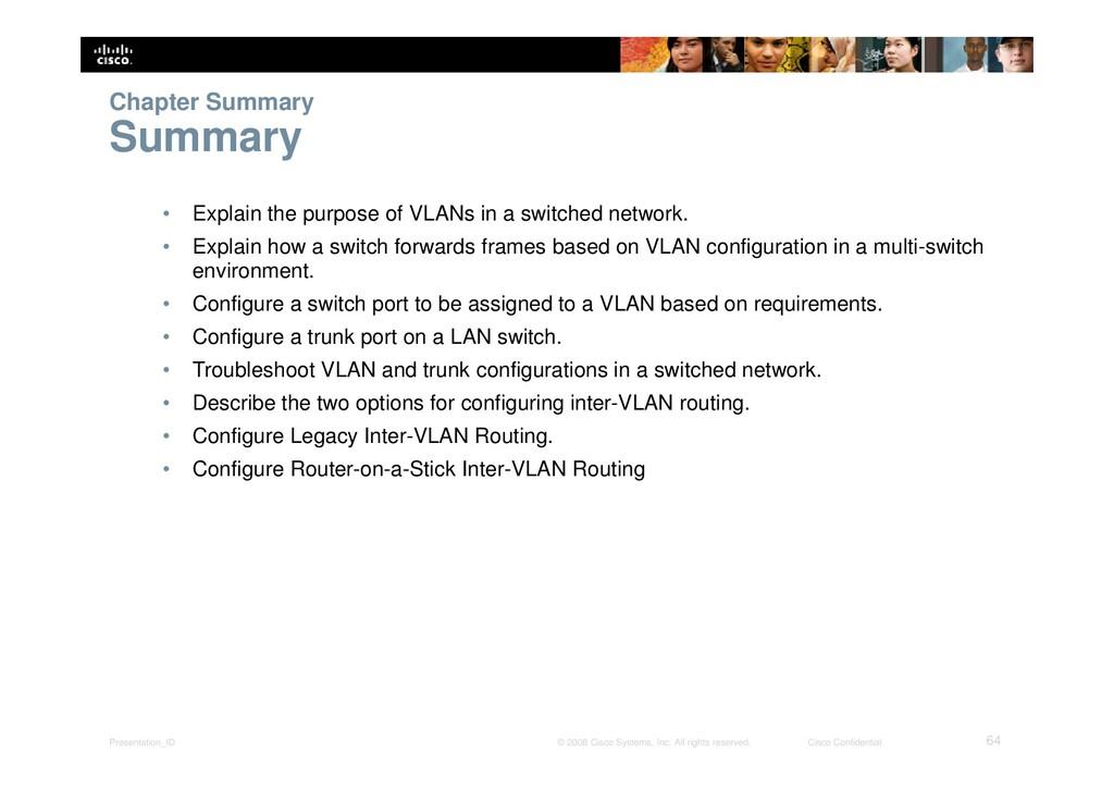 Presentation_ID 64 © 2008 Cisco Systems, Inc. A...