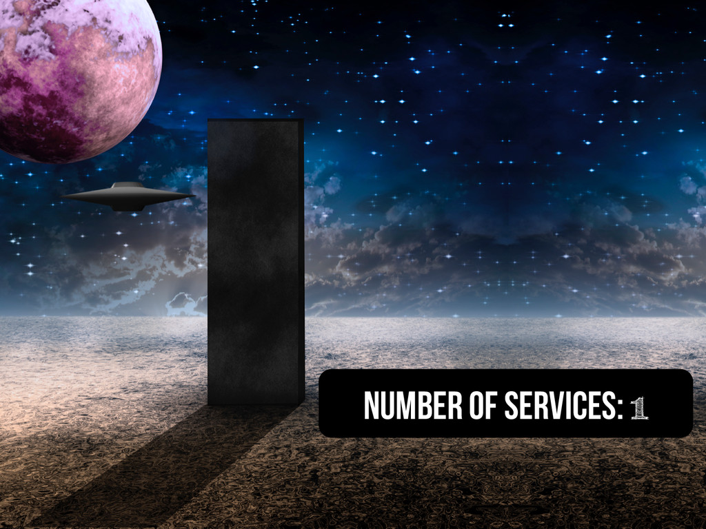 Number of services: 1