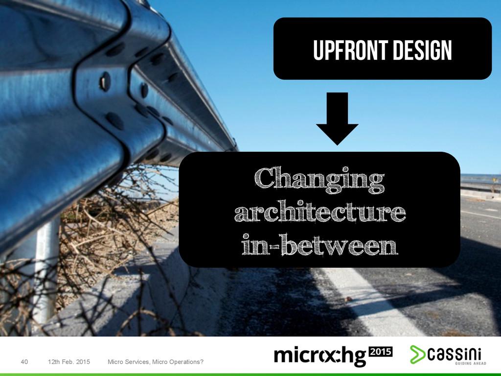 40 12th Feb. 2015 Micro Services, Micro Operati...