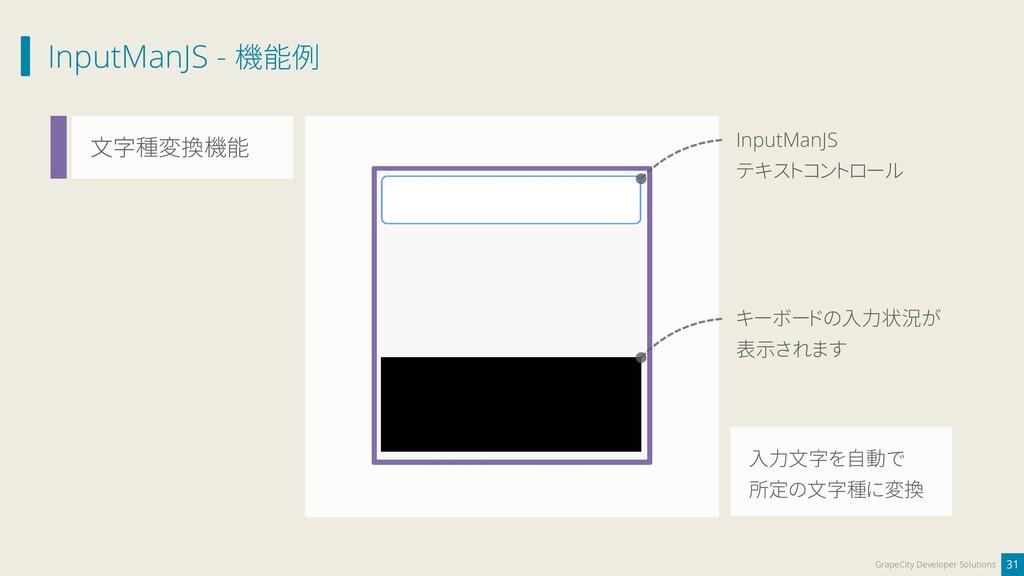 InputManJS - 機能例 31 GrapeCity Developer Solutio...