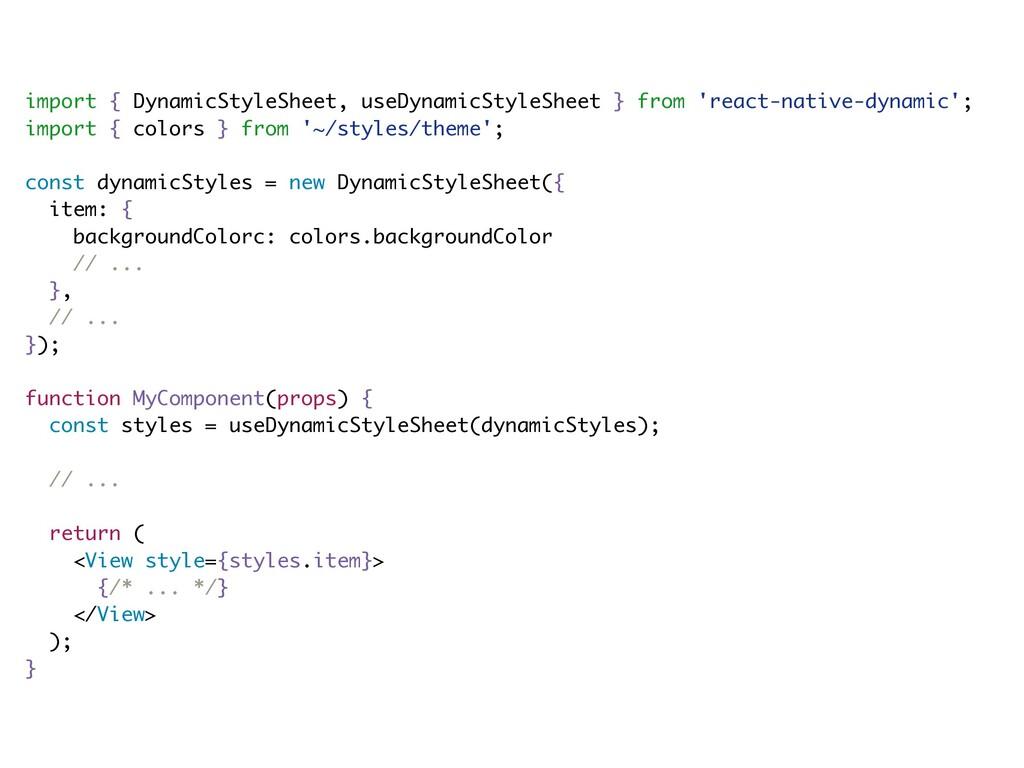 import { DynamicStyleSheet, useDynamicStyleShee...