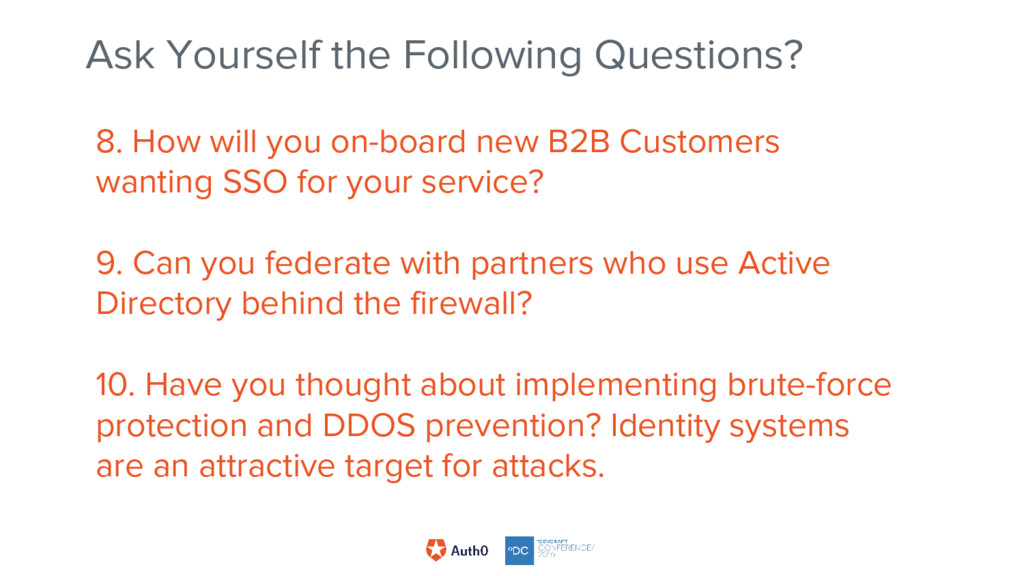 8. How will you on-board new B2B Customers want...
