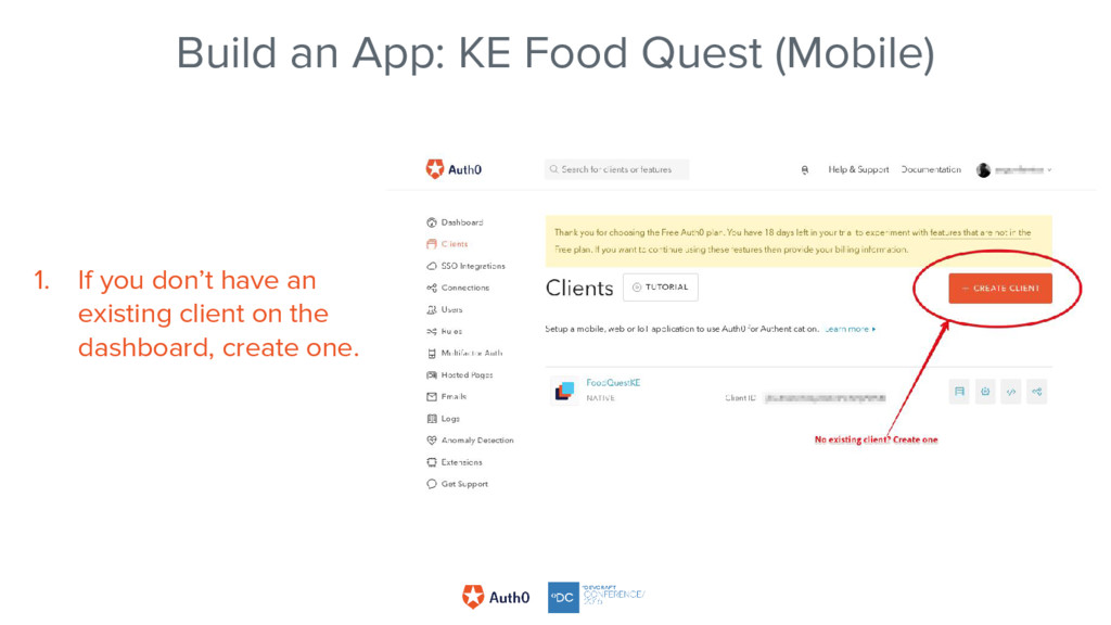 Build an App: KE Food Quest (Mobile) 1. If you ...