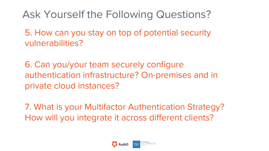 5. How can you stay on top of potential securit...