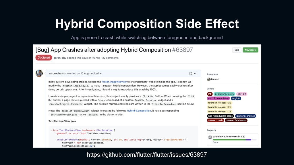 Hybrid Composition Side Effect App is prone to ...