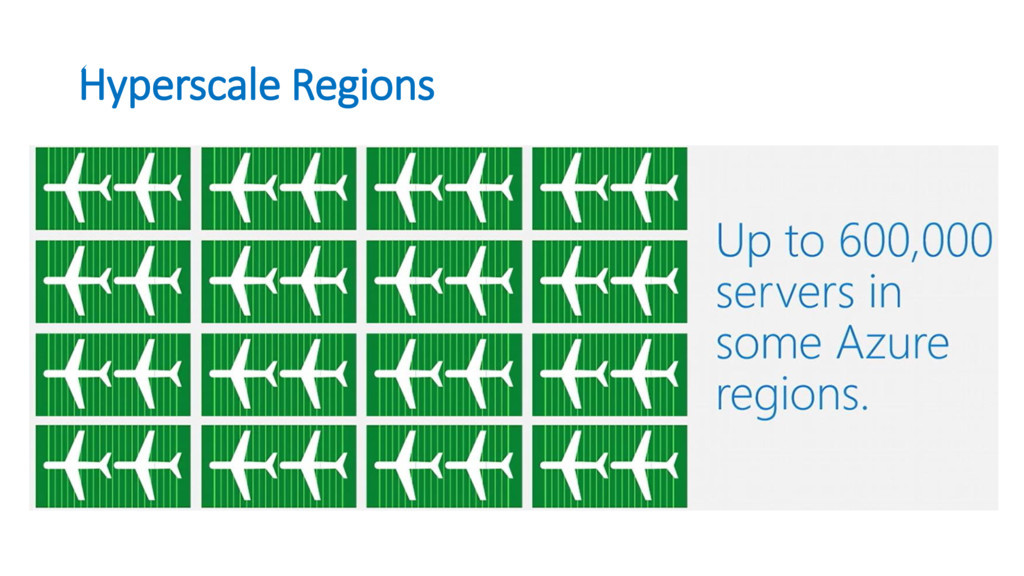 Hyperscale Regions