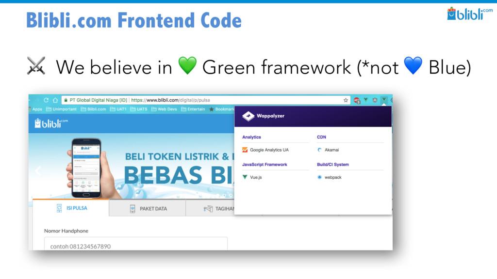 Blibli.com Frontend Code ⚔ We believe in  Green...