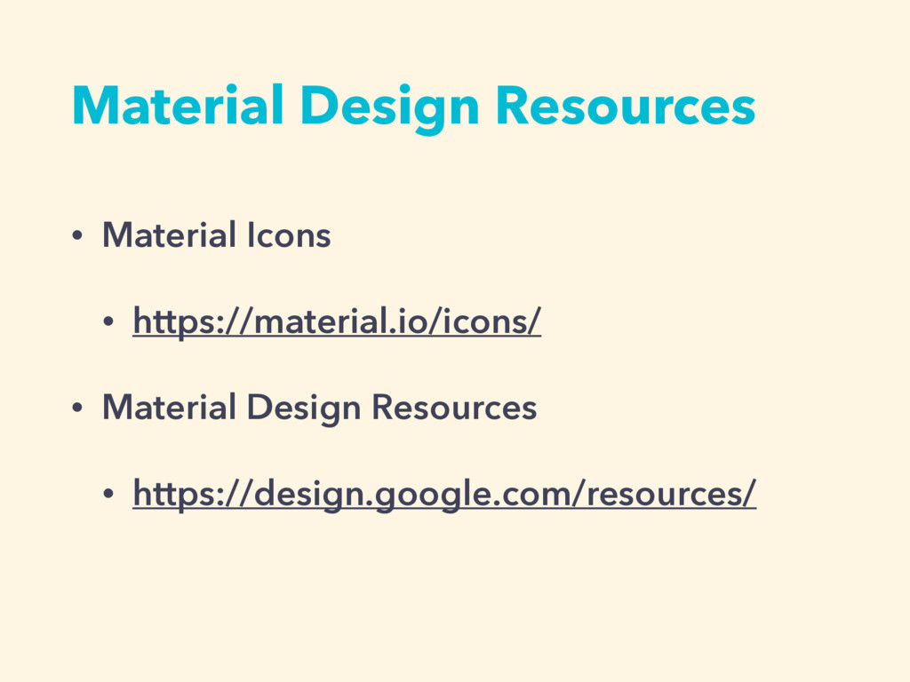 Material Design Resources • Material Icons • ht...