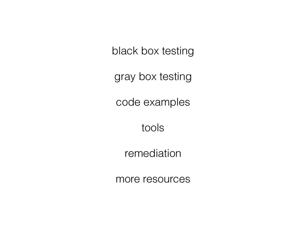 black box testing gray box testing code example...