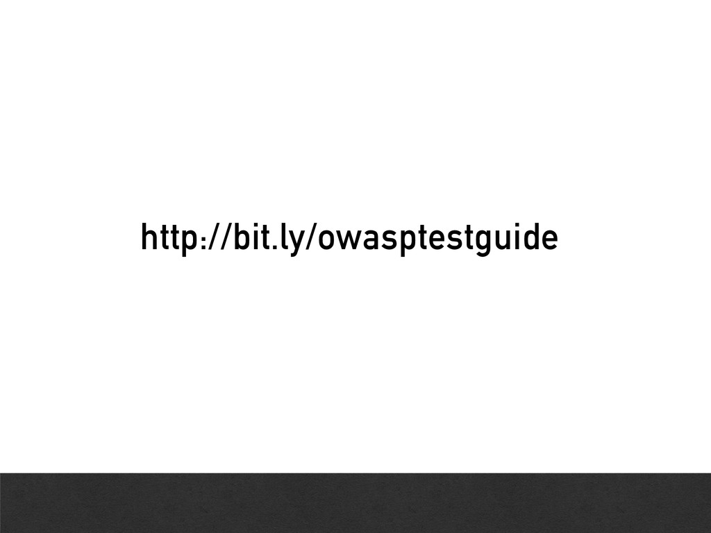 http://bit.ly/owasptestguide