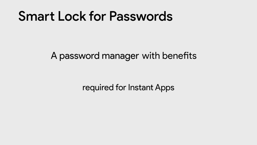 "Sma"" Lock for Passwords A password manager with..."