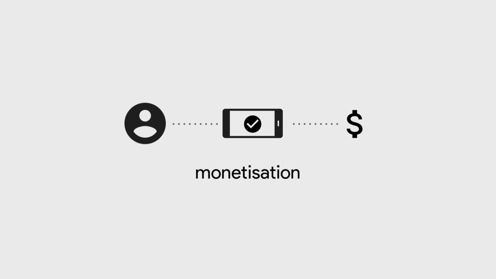 monetisation