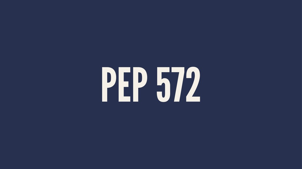 PEP 572