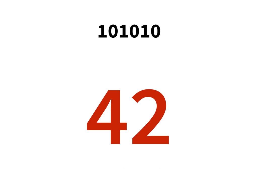 101010 0 1 0 0 1 1 * * * * * * 1 2 4 8 16 32 = ...