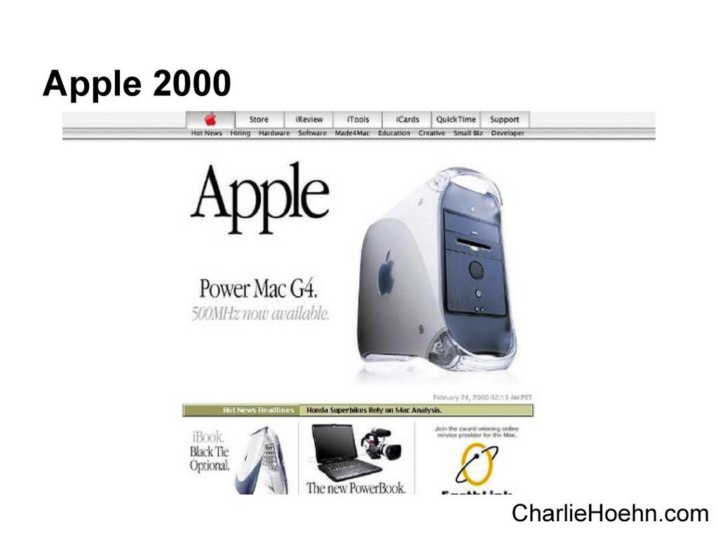 Apple 2000 CharlieHoehn.com