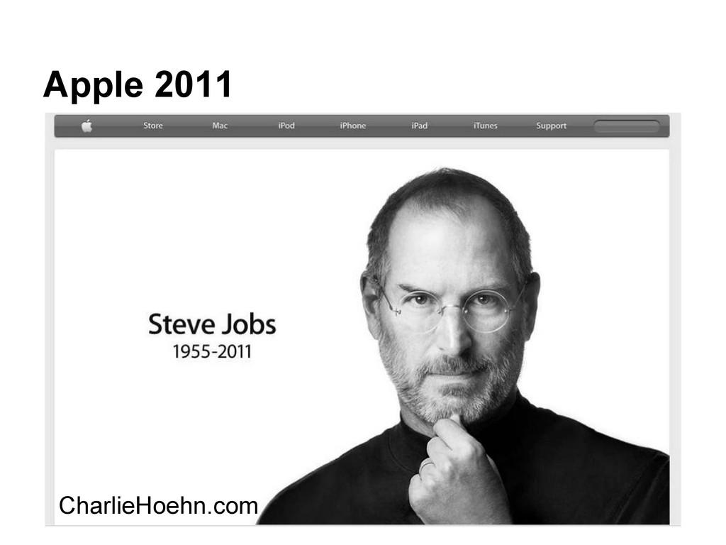 Apple 2011 CharlieHoehn.com