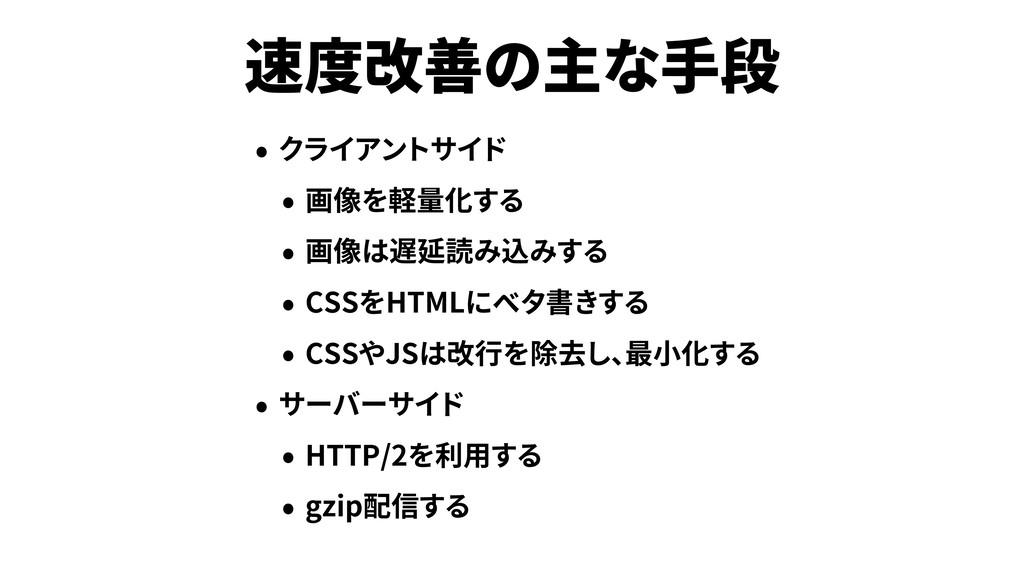 CSS HTML CSS JS HTTP/2 gzip