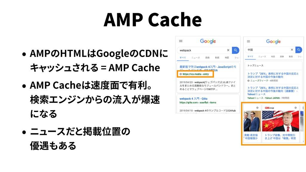 AMP Cache AMP HTML Google CDN = AMP Cache AMP C...