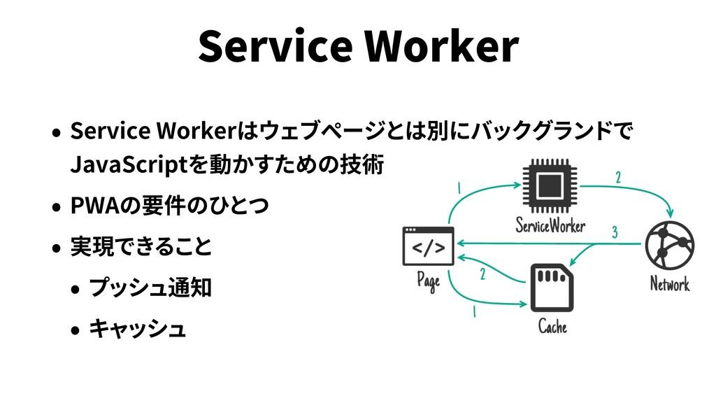 Service Worker Service Worker JavaScript PWA