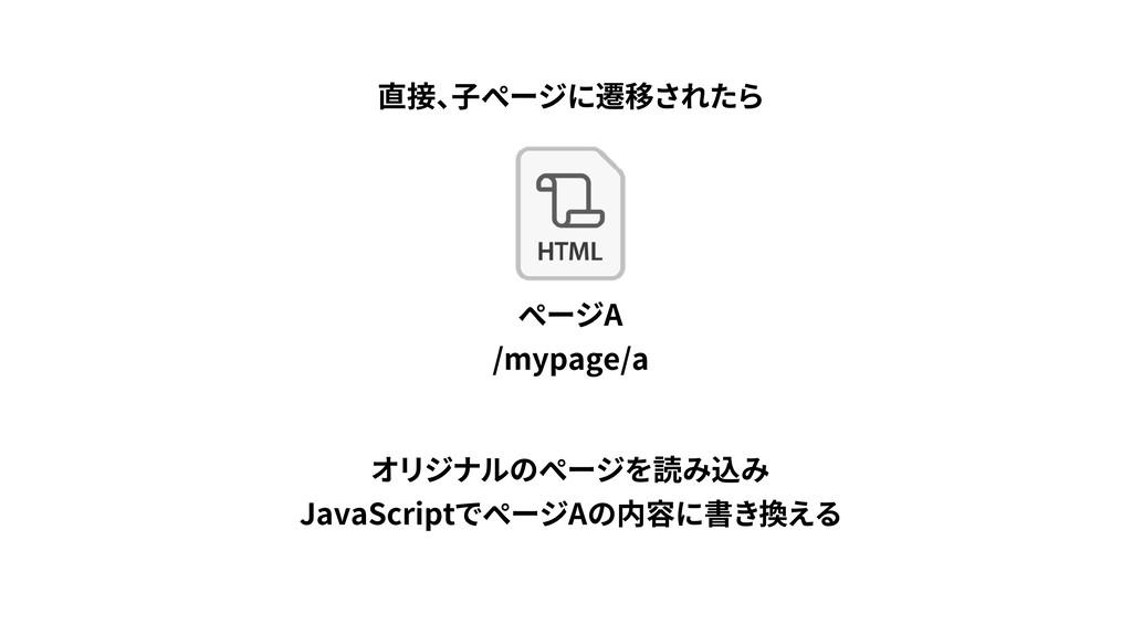 JavaScript A A /mypage/a