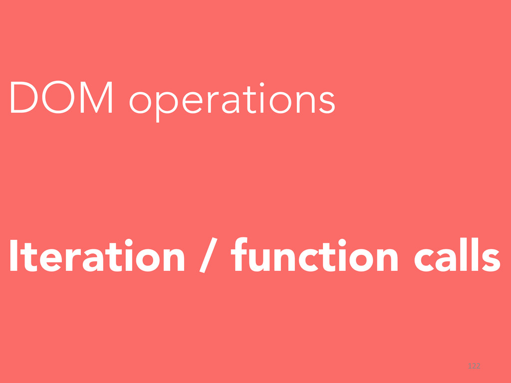DOM operations