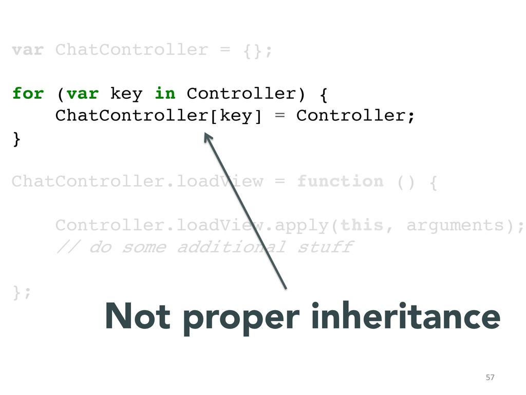 57  var ChatController = {};! ! for (var key...