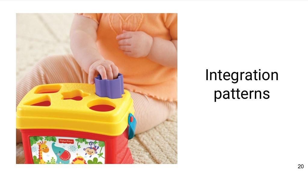 20 Integration patterns