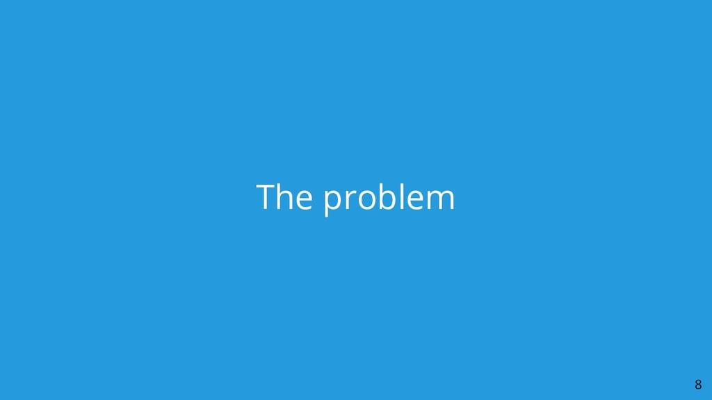 The problem 8