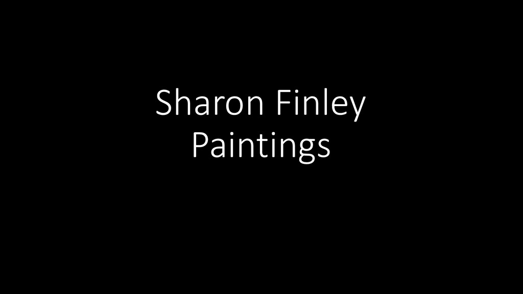Sharon Finley Paintings