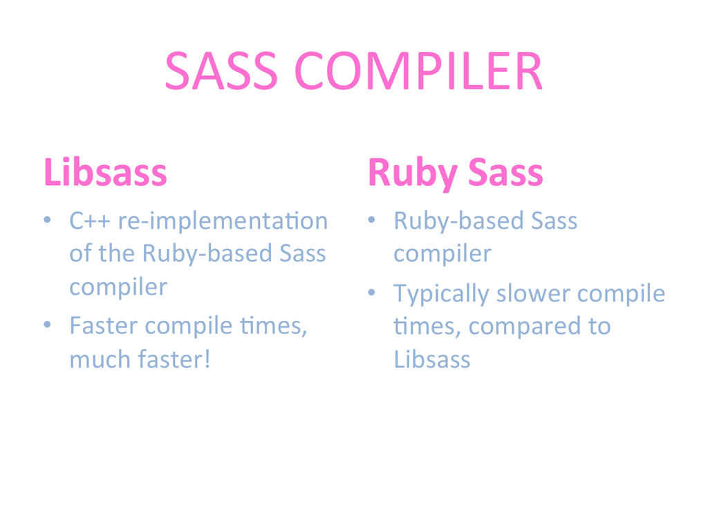 SASS	