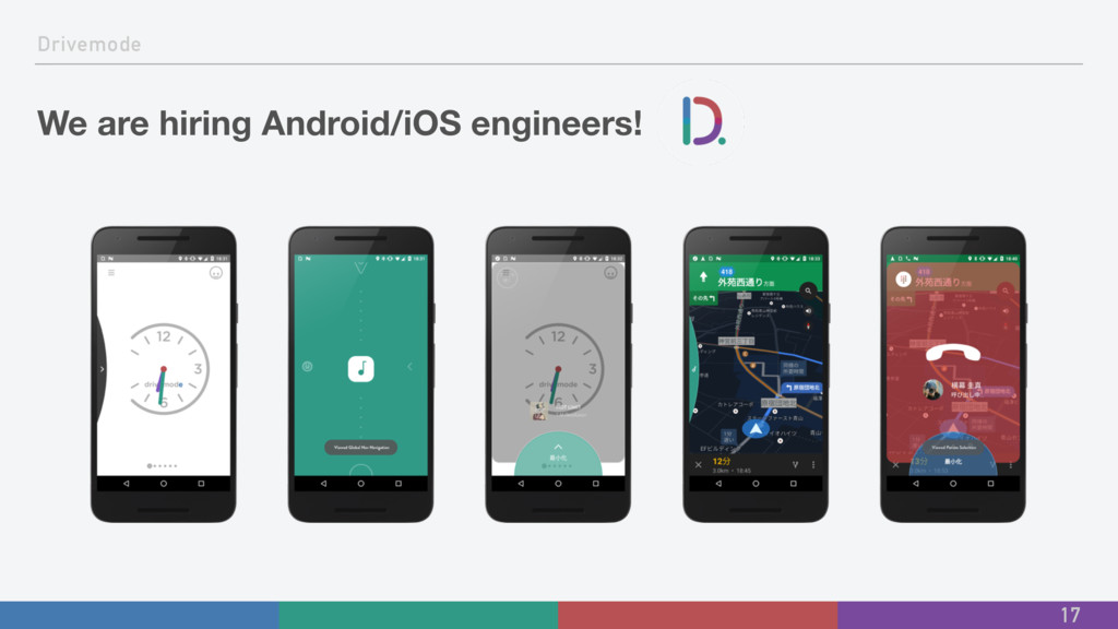 Drivemode We are hiring Android/iOS engineers! ...