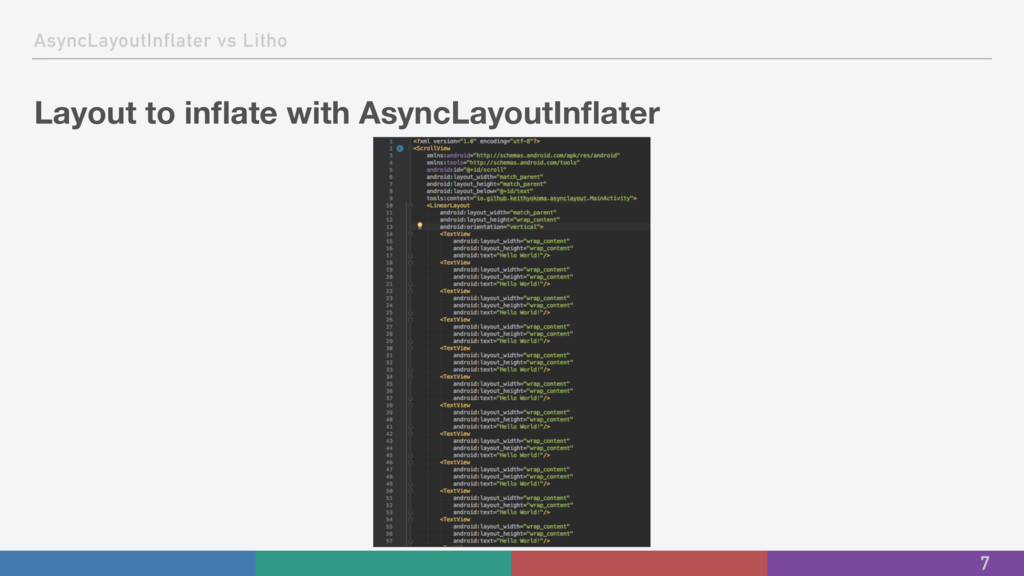AsyncLayoutInflater vs Litho Layout to inflate w...