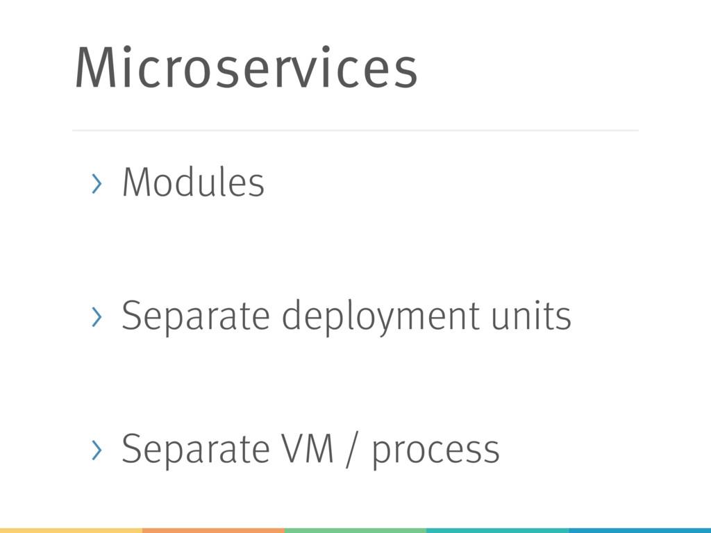 Microservices > Modules > Separate deployment u...