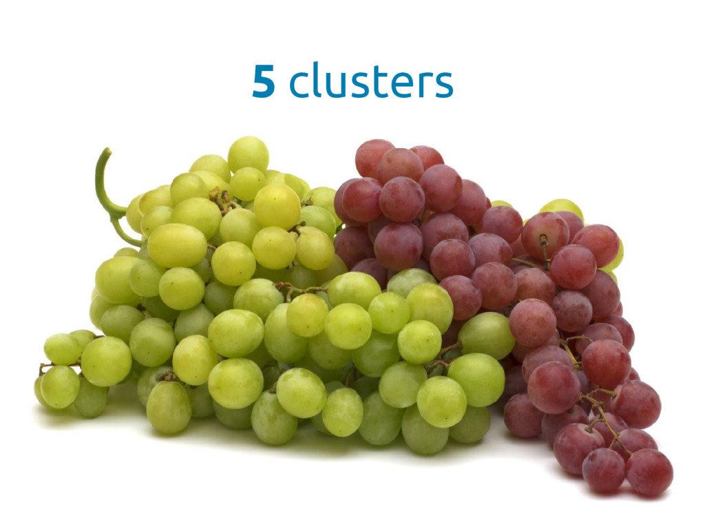 5 clusters