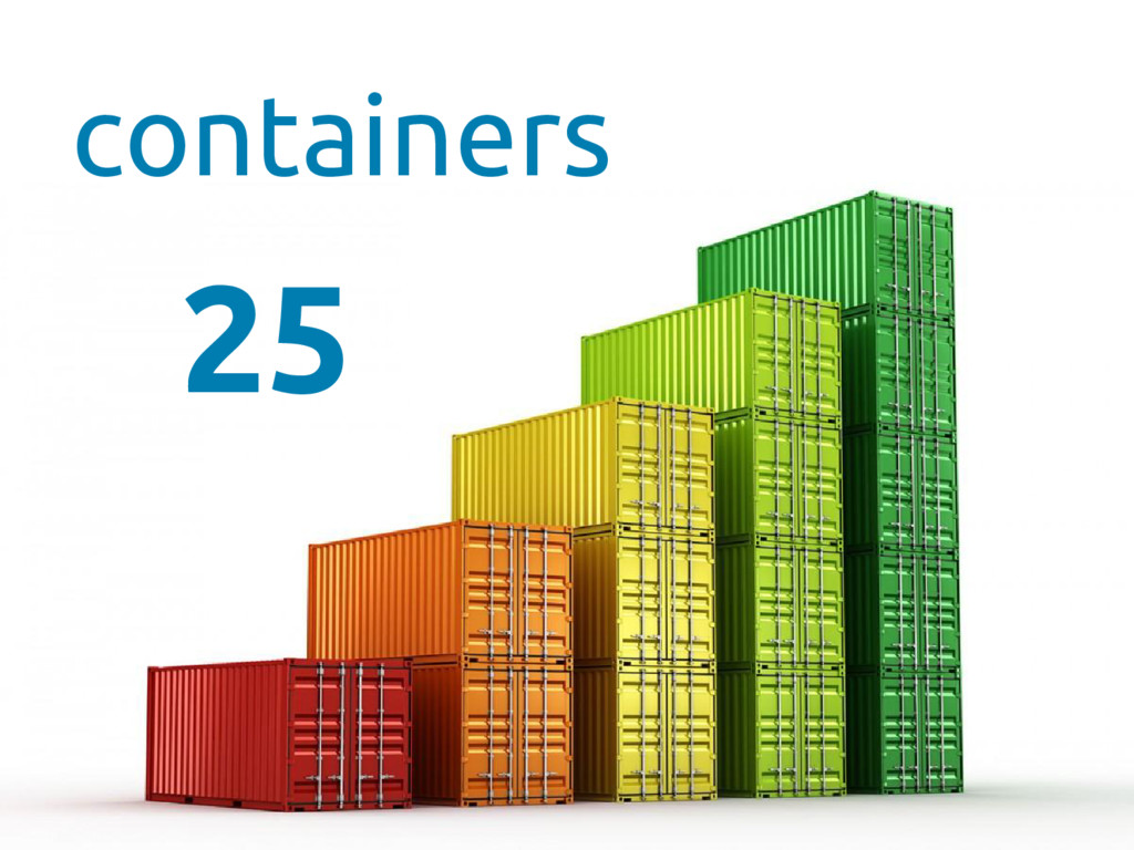 containers 25