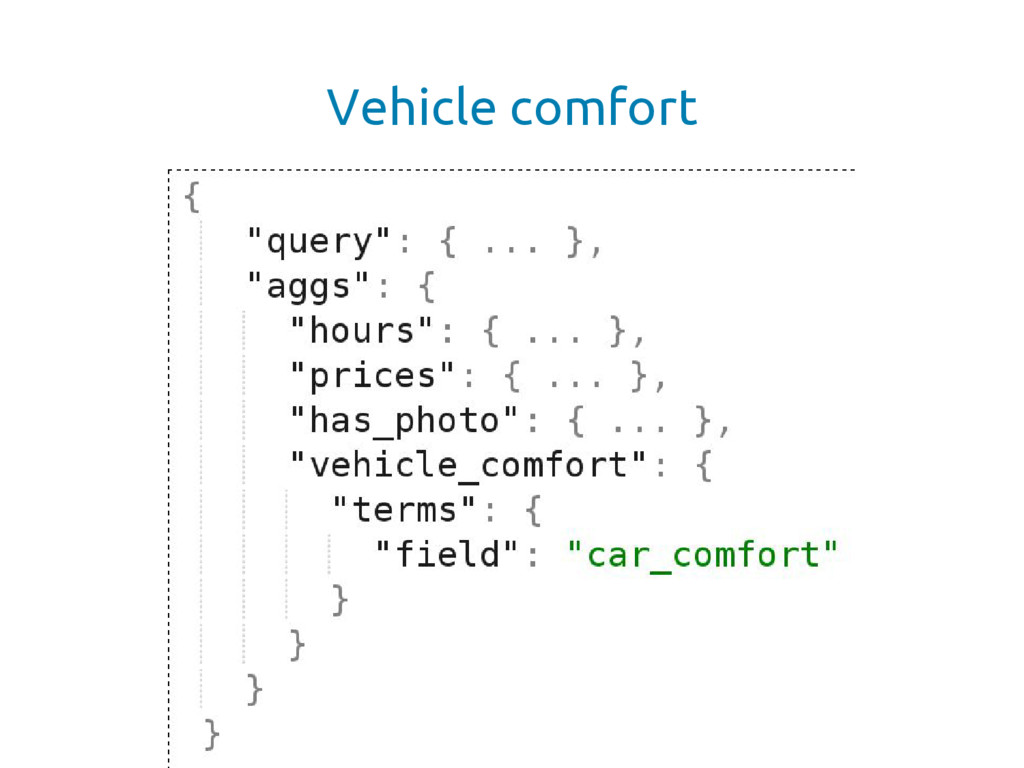 Vehicle comfort