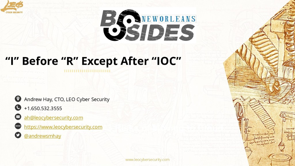 www.leocybersecurity.com 1 The Top 3 Risks of M...