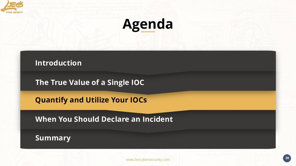 www.leocybersecurity.com 39 Summary Introductio...