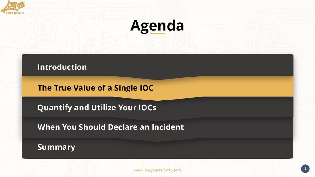 www.leocybersecurity.com 5 Summary Introduction...