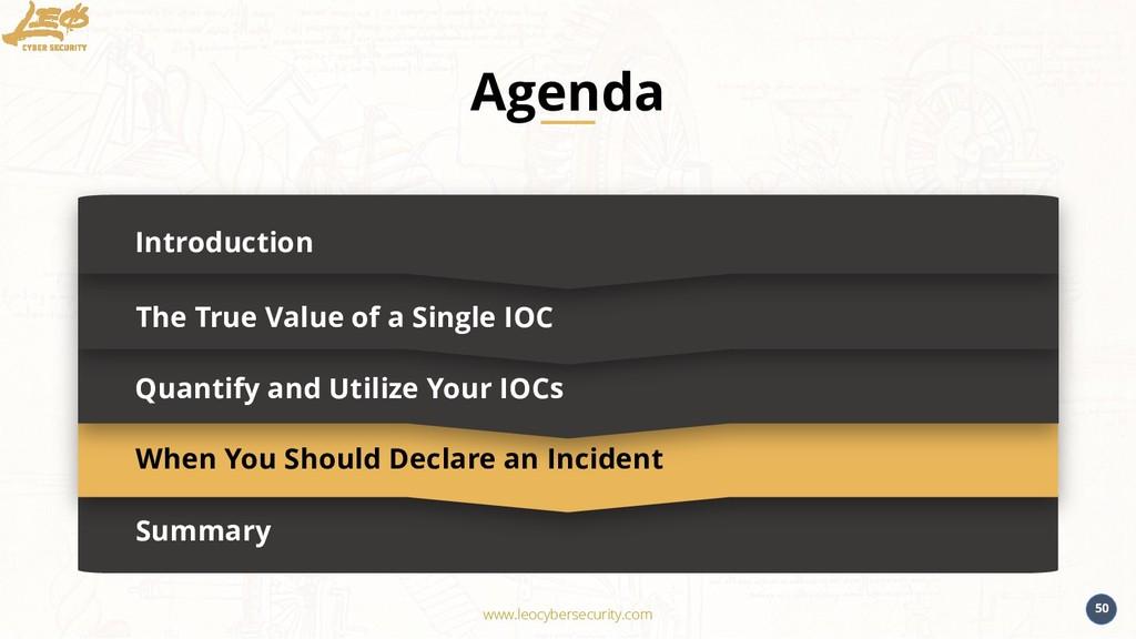 www.leocybersecurity.com 50 Summary Introductio...